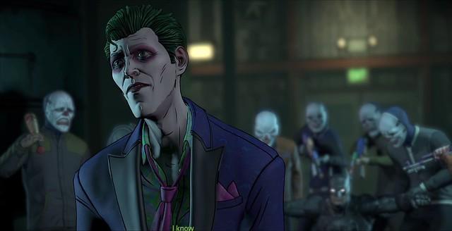 Batman Nepřítel v epizodě 5 - Joker Ruminates On Harley