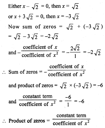Learncbse.In Class 10 Chapter 2 Polynomials