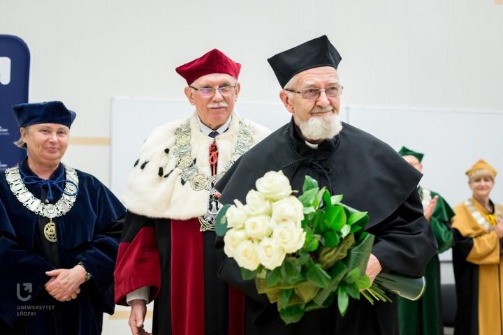Uroczystość nadania doktoratu honoris causa ks. A. Bonieckiemu