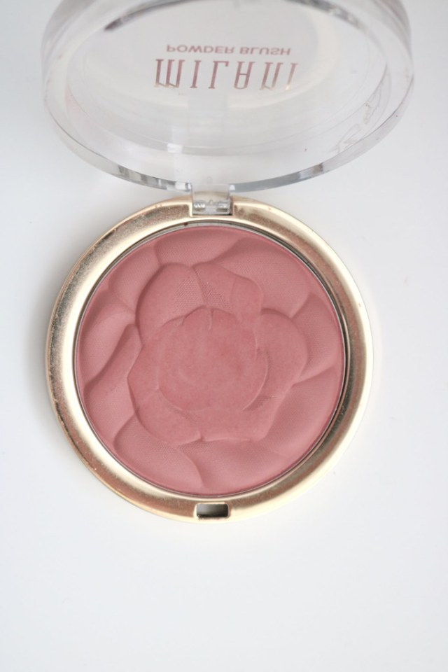 Rose blush after 1 month