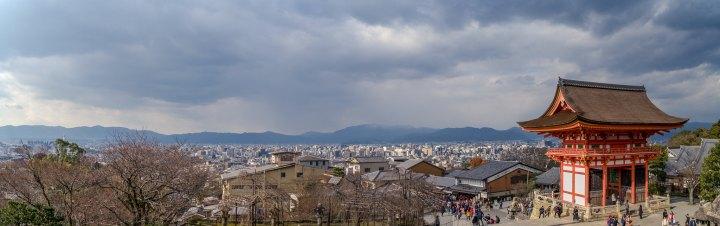 Panorama from Kiyomizu-dera