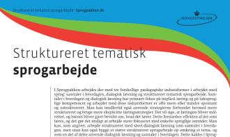 struktureret sprogarbejde