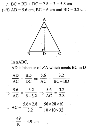 Learncbse.In Class 10 Chapter 4 Triangles