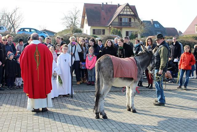 Dimanche des rameaux 2018 à Minversheim
