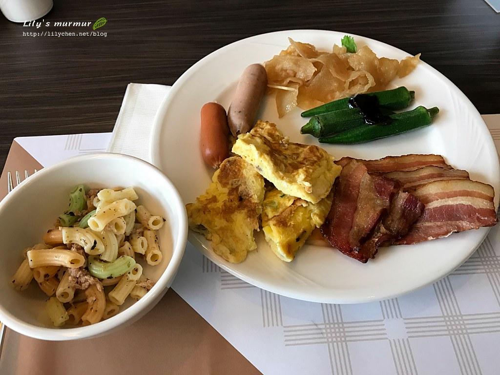 煙波大飯店花蓮館的早餐,跟其他飯店早餐Buffet大同小異。