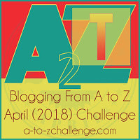 #AtoZchallenge Letter Blog of author @JLenniDorner