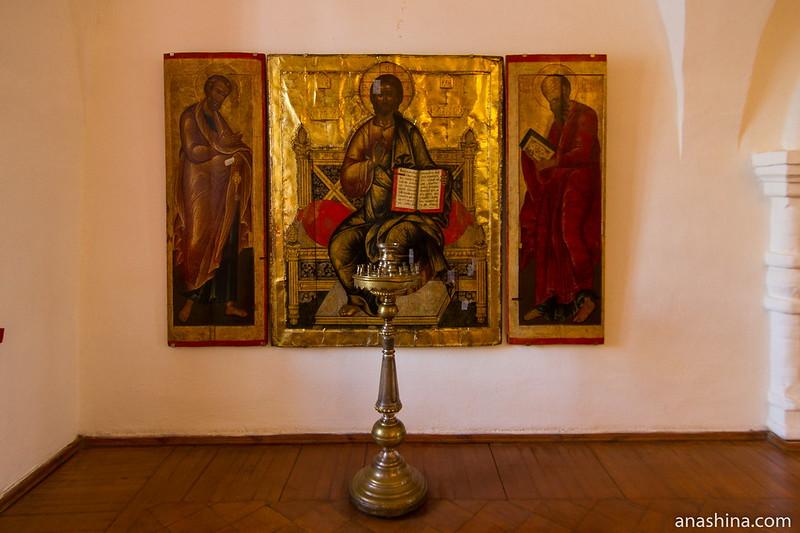 Икона Спасителя, Крестовая палата, Суздаль