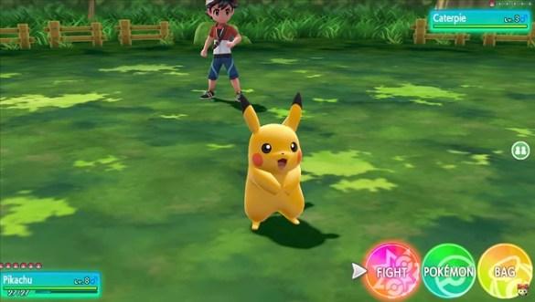 Pokemon Let's Go Pikachu - Trainer Battle