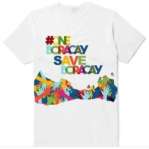 #saveboracay shirt