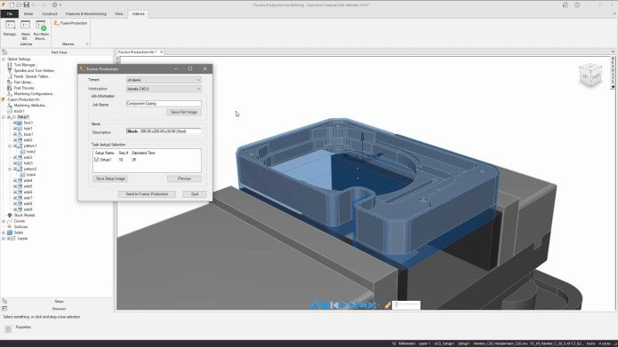 Working with Autodesk FeatureCAM 2019 full license