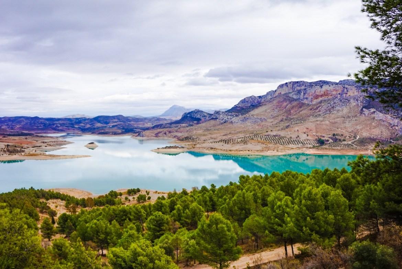 Malagan järvialue, Andalucia