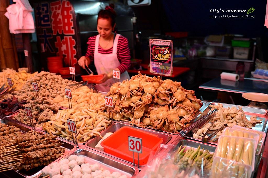 圖說:還買了這家的炸螃蟹吃,這裡商家都能使用支付寶支付。
