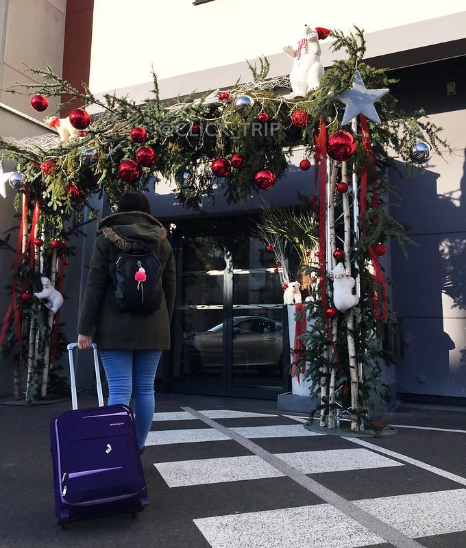 Entrada al Colmar Hotel | Descubre Colmar en Navidad | Hoteles en Colmar | Alsacia | Francia | ClickTrip.ES
