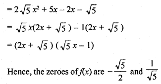 RD Sharma Class 10 Book Pdf Chapter 2 Polynomials