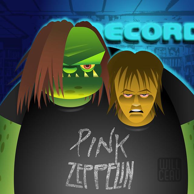 Pink Zeppelin - The Vector Version