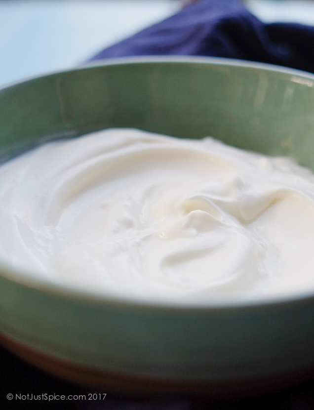How To Make Crème Fraîche on notjustspice.com