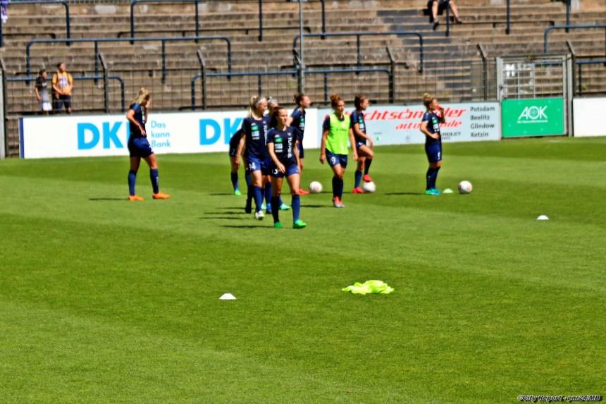 Impressionen vom Bundesligaspiel 1.FFC Turbine Potsdam gegen 1.FC Köln