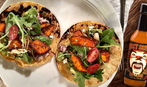 Ghost Scream's Recipe For Roasted Yam Tacos! Perfect for Cinco De Mayo