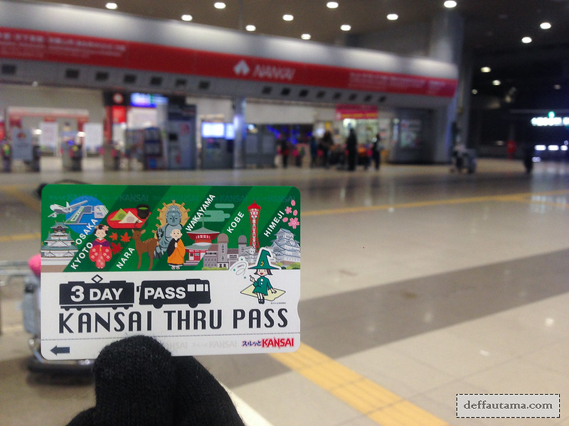 9 Hari Babymoon ke Jepang - Kansai Thru Pass