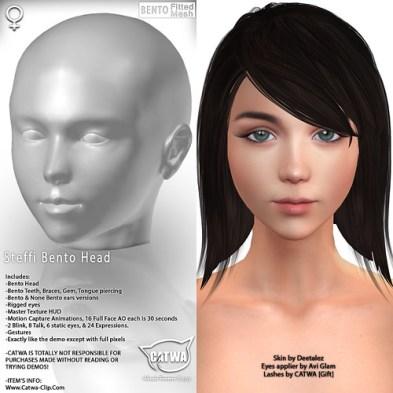 CATWA HEAD Steffi