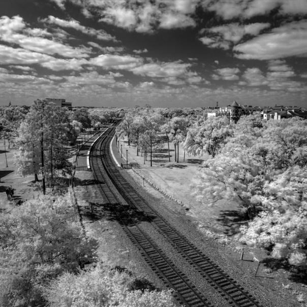 The track through Winter Park