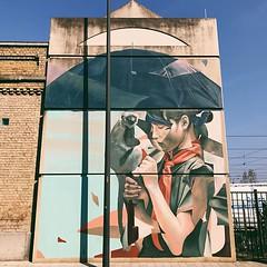#streetart #oostende #visitoostende #thechrystalship #belgium #wanderlust #colours #wall #visitflanders #blue #sky #vsco #vscocam #travel #streetartistry