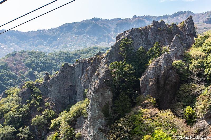 Teleférico de la garganta Kankakei en Shodoshima