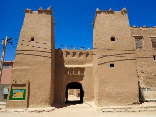 Pueblo del interior de Marruecos