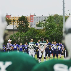 #tbt #berlinbullets #radebeulsuburbianfoxes #seniorfoxes #americanfootball #homegame #homefield #bulletsfamily #greenandwhite #greenandwhitearmy #123bullets #greennation #hauptstadthulk