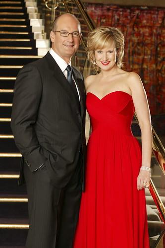 Melissa Doyle & David Koch