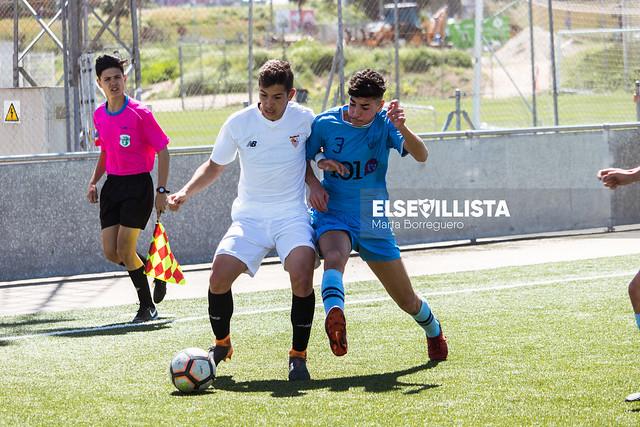 Sevilla FC 1-1 CD 26 de Febrero (División de Honor Cadete