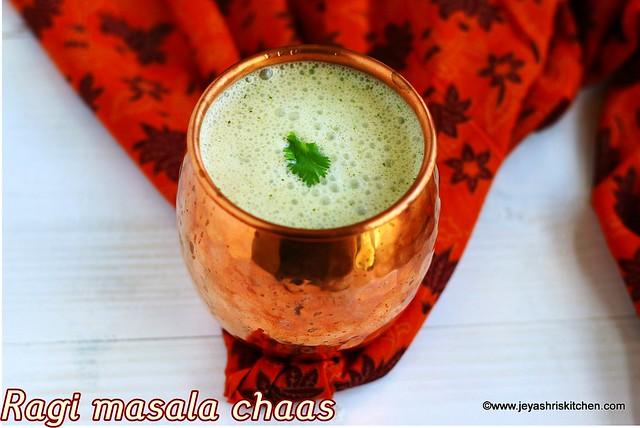 Ragi-masala chaas