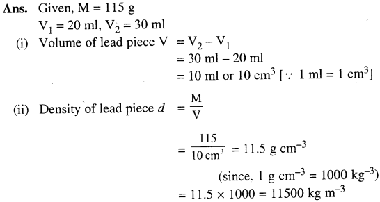 Selina Concise Physics Class 7 ICSE Solutions - Physical Quantities and Measurement 14.1