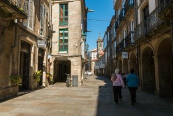 Een dag later was ik alweer in Santiago de Compostela.
