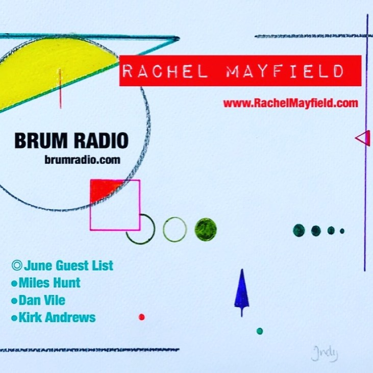 Rachel Mayfield - Brum Radio June 2018