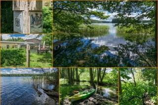 Krüseliner Mühle und See