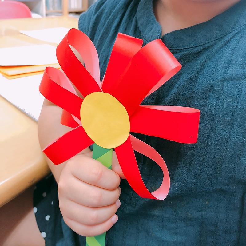 색종이로 꽃 만들기 - 유아를 위한 쉬운 만들기