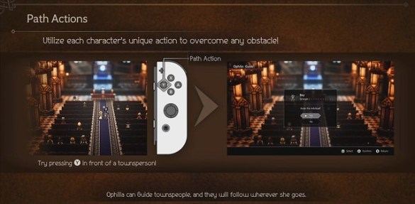 Octopath Traveler - Path Abilities