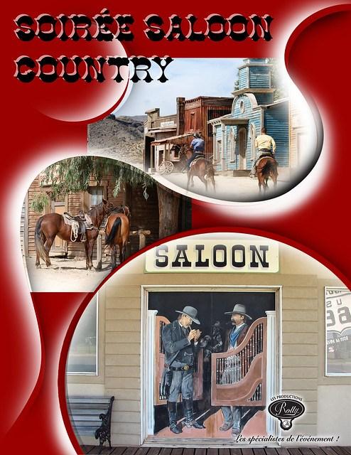 Thématique Saloon Country