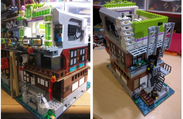 Ninjago City Expansion WIP