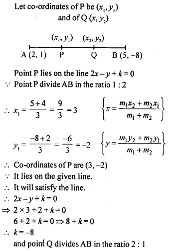 Selina Concise Mathematics Class 10 ICSE Solutions Chapter 13 Section and Mid-Point Formula Ex 13C 18