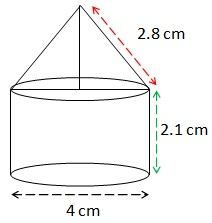 NCERT Solutions For Class 10 Maths Surface Areas and Volumes PDF 13.1 14
