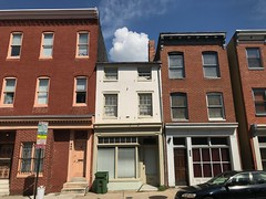 Commercial buildings, 692-696 Washington Boulevard, Baltimore, MD 21230