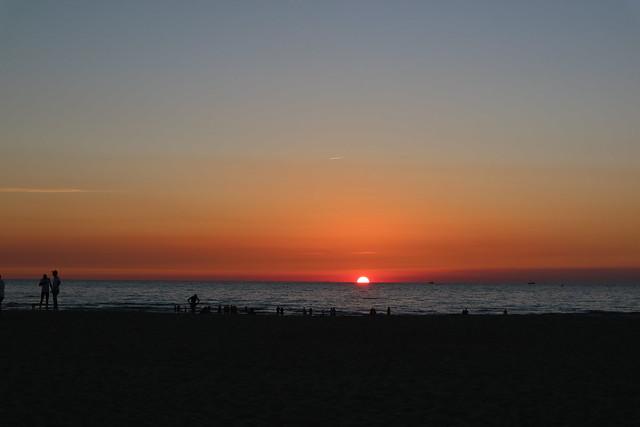 Zonsondergang Oostende