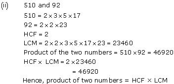 NCERT Solutions for Class 10 Maths Chapter 1 Real Numbers 7