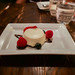 Panna Cotta - Fresh fruit, chocolate ganache