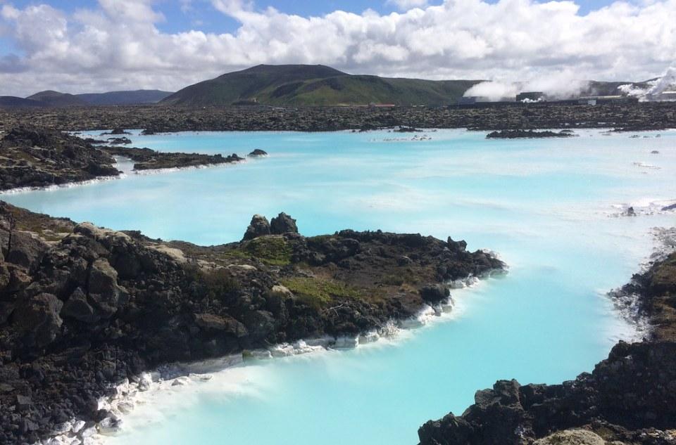 Laguna Azul balneario geotermal en Grindavik Islandia 05