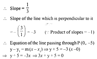 Selina Concise Mathematics Class 10 ICSE Solutions Chapter 14 Equation of a Line Ex 14E 3