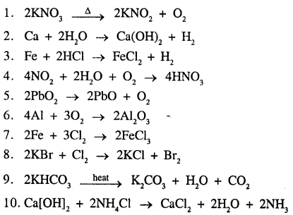 New Simplified Chemistry Class 9 ICSE Solutions - The Language Of Chemistry - 18.1