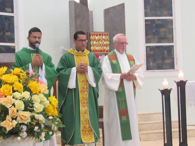 Primeira Missa Pe. Willian Coutinho na Paróquia Sagrada Família